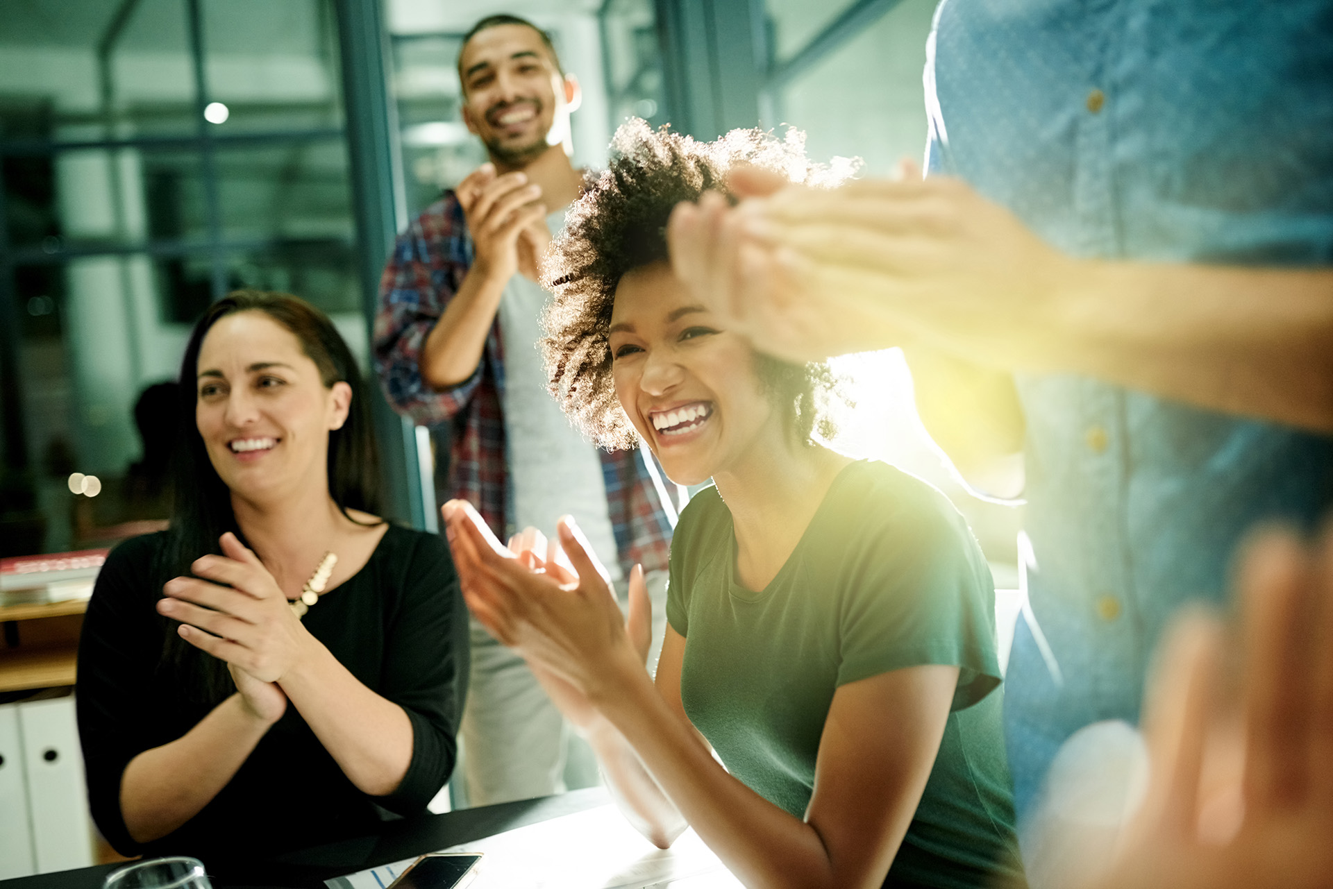 How can you get your staff more excited in your company mission?
